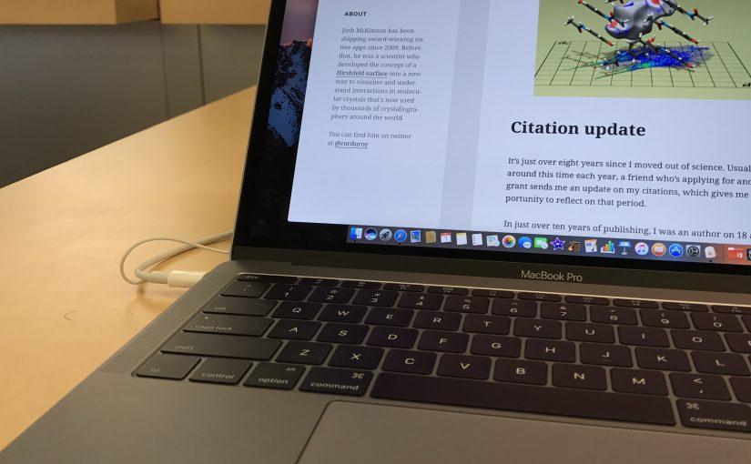 Apple's Mac strategy